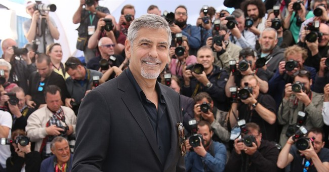 In Cannes, Clooney vows Donald Trump won't be president