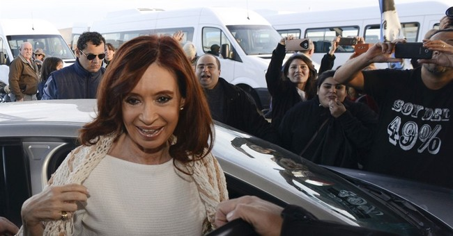 Argentina's Fernandez charged with state fraud