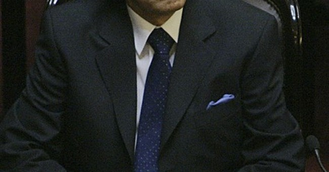 Ex-Argentine leader tells court son was killed by Hezbollah