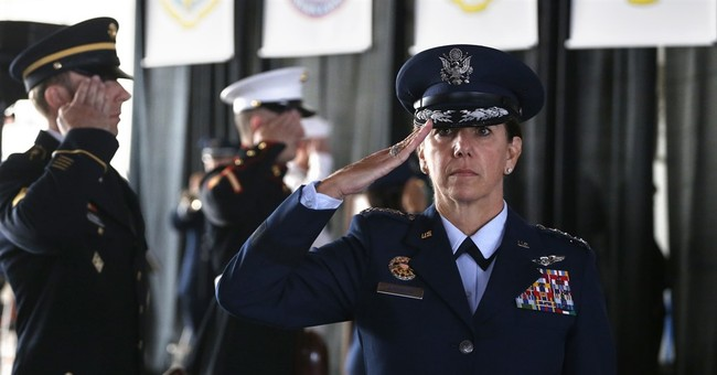 General is 1st woman to lead top-tier US combat command