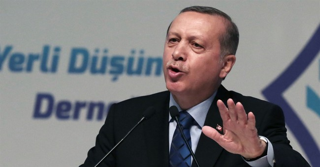 Erdogan to West: Care about Syrians as much as gay weddings