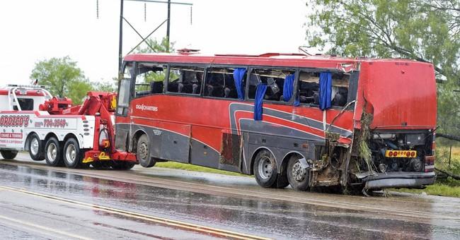 Officials: 8 dead, 44 hurt, in South Texas bus crash