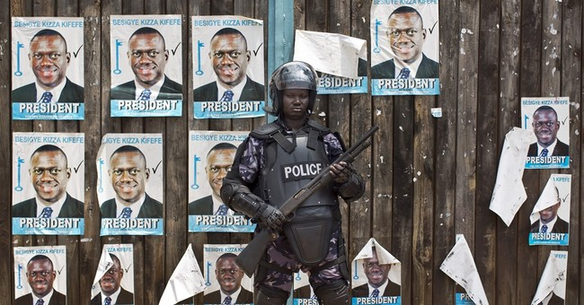 Ugandan opposition leader charged with treason over protests