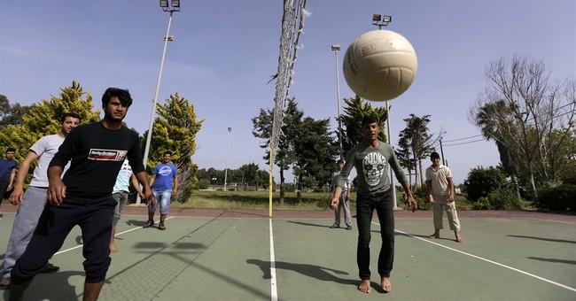 In Greek seaside resort, refugees see dreams put on hold