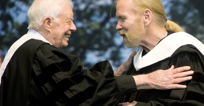 Jimmy Carter helps bestow degree on rock star Gregg Allman