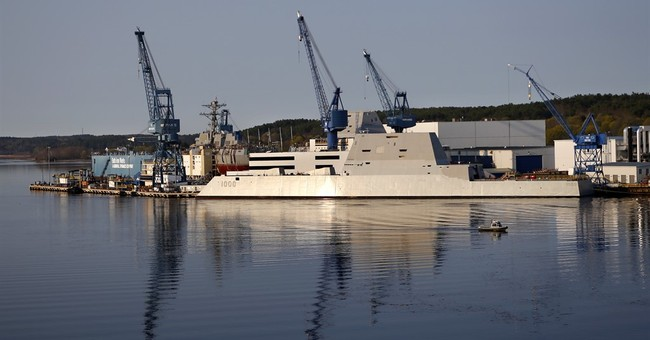 Correction: Stealth Destroyer story