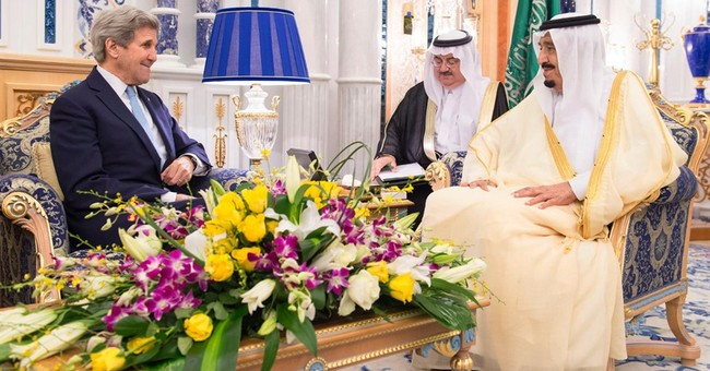 Kerry in Saudi Arabia for talks on Syria, Libya, Yemen
