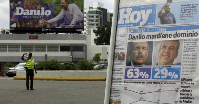 Dominican Republic president appears headed to re-election