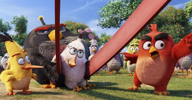 "Review: An app comes to life in ""The Angry Birds Movie"""