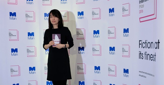 Han Kang's 'The Vegetarian' wins Man Booker fiction prize