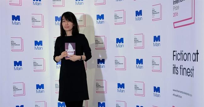 Han Kang's 'The Vegetarian' wins Man Booker fiction prize