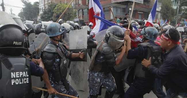 Nepal ethnic protesters clash with police for 2nd day