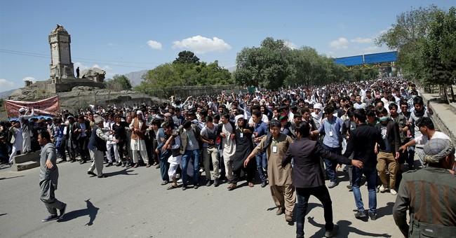 Afghan capital locked down for large minority Hazara rally