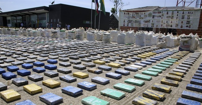 Colombia claims largest cocaine seizure in its history