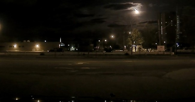 Meteor captured on dashcam video lights up New England sky
