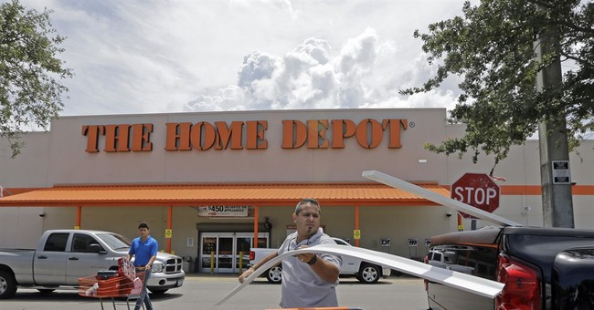 Again, Home Depot rises above the retail fray