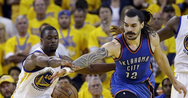 Thunder's Steven Adams apologizes for 'monkeys' comment
