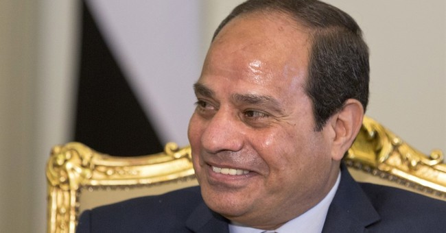 Egypt president backs French proposal for Mideast talks