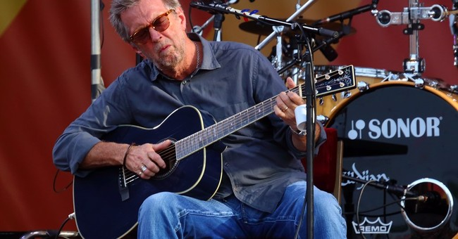 Eric Clapton 'kind of might be saying goodbye'