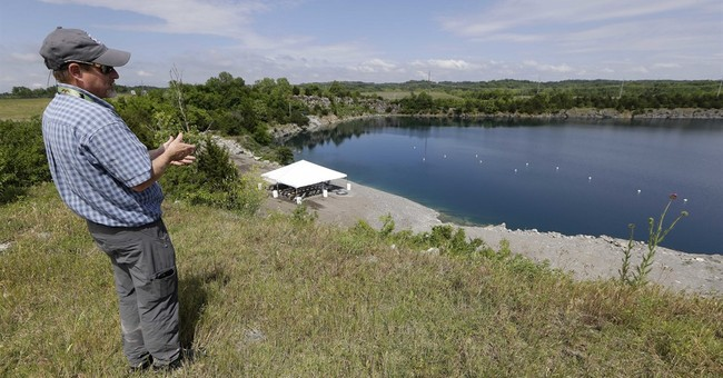 Old quarry near runway now saves airport $430,000 a year