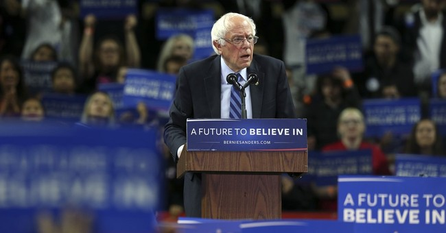 The Latest: Sanders doesn't gain much ground on Clinton