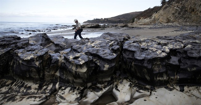Company charged for oil spill that fouled California beaches