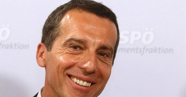 Christian Kern sworn in as new Austrian chancellor