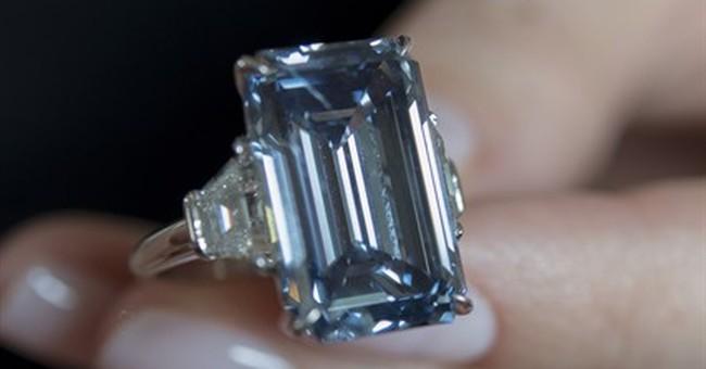 Christie's auctions blue diamond, expects $39 million
