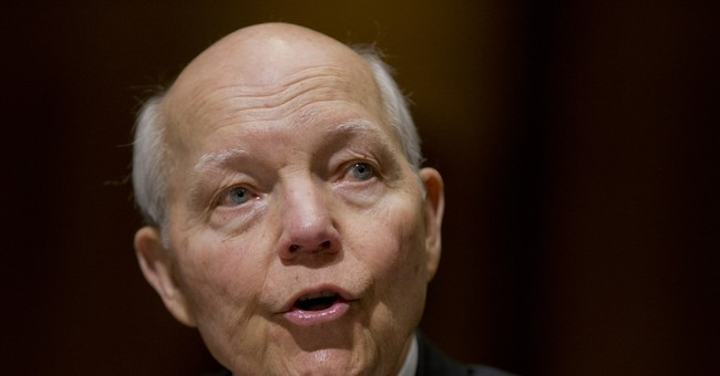 House GOP chairman introduces resolution to censure IRS head