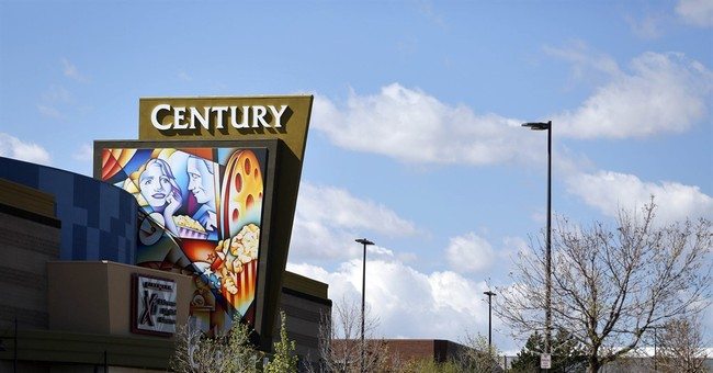 The Latest: Colorado movie theater isn't liable for shooting