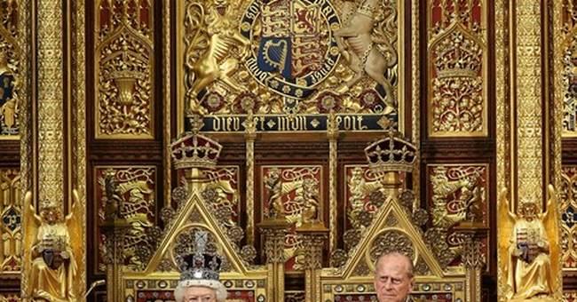 Sugar tax, spaceports meet pageantry in UK Queen's Speech