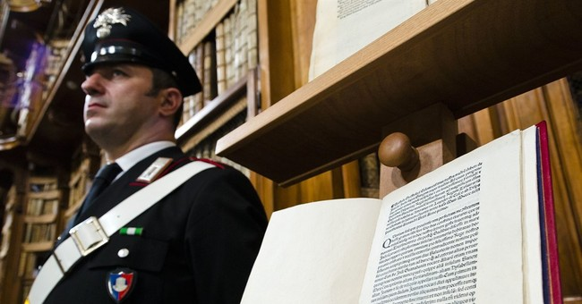 Historic 1493 letter on Columbus voyage is returned to Italy