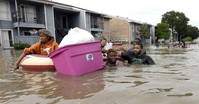 Climate change, runaway development worsen Houston floods