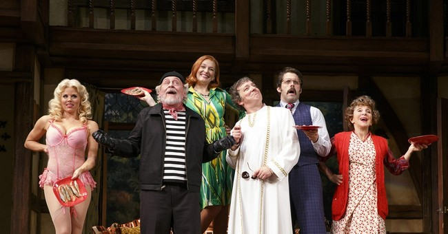 Review: 'Noises Off' remains a high-energy comedic romp