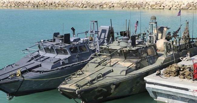 Defense chief: US sailors made navigational error in Iran