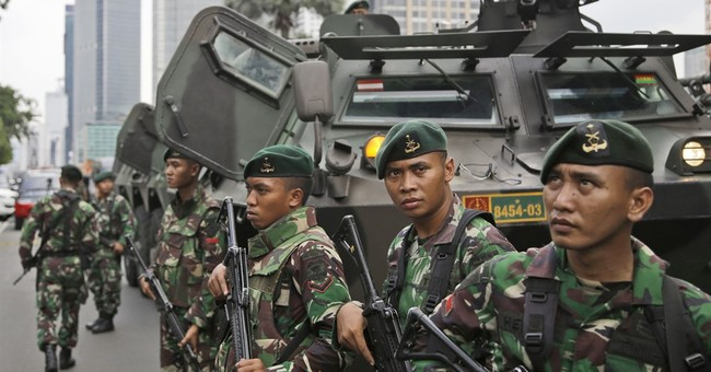 Indonesian authorities warned last month of terrorist threat