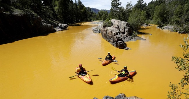 The Latest: EPA reviews New Mexico's plans to sue over spill