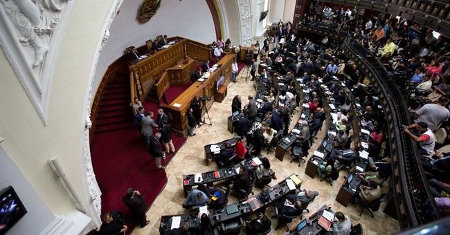 Venezuela opposition congress tries to start legislating