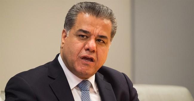 Kurdish officials say they're facing financial crisis