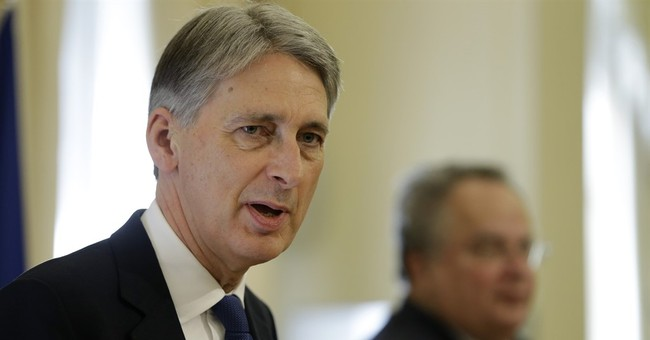 Britain's Hammond hopeful of Cyprus 'breakthrough'