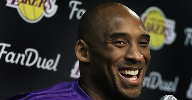 Kobe Bryant enjoying his farewell tour at every stop