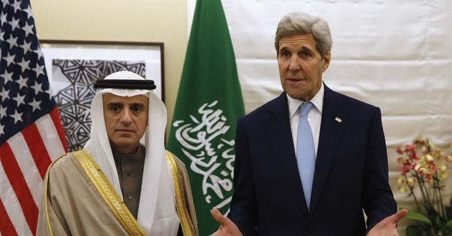 Kerry stands by Saudis while urging diplomacy with Iran