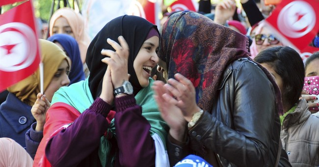 Tunisians rally to mark 5 years since president's ouster