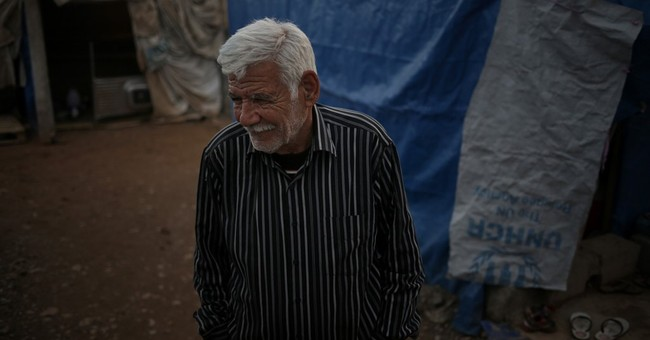 Palestinian refugee driven into new exile by IS