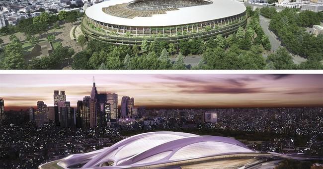 Hadid says Japan trying to take stadium design copyrights