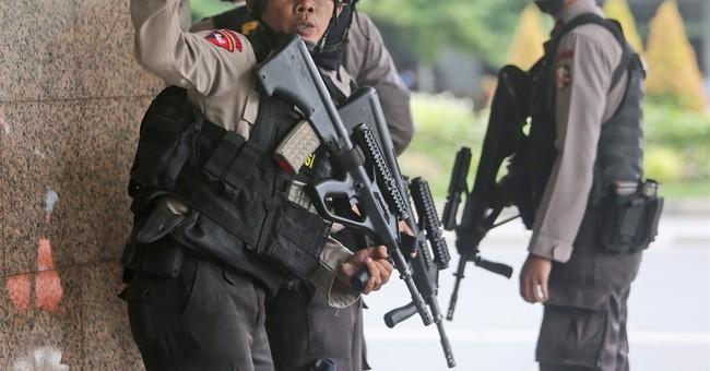 Police arrest 3 men on suspicion of links to Jakarta attack