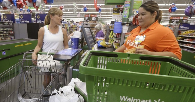 In a dark quarter for retailers, Wal-Mart shines