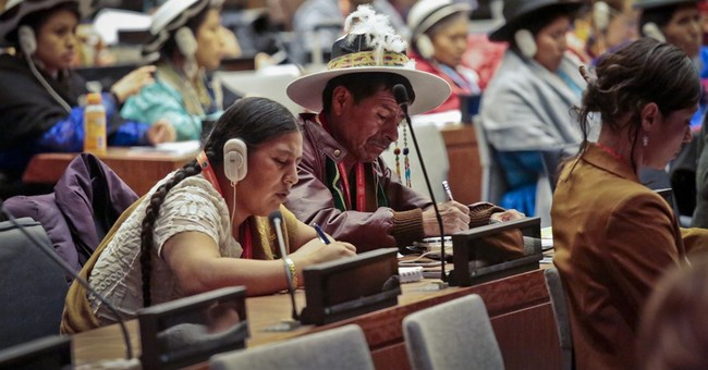 Indigenous grapple with NYC bedlam, bureaucracy at UN forum