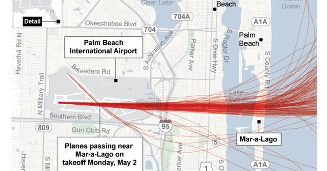 Trump could win noise battle with airport if he is president