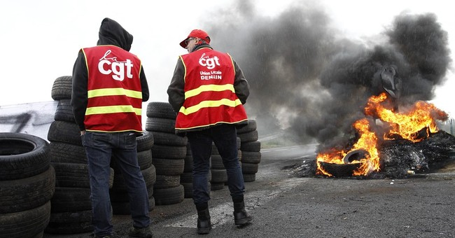 Gas stations closed in north-western France amid strike